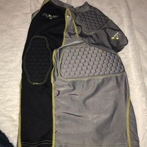 Ridell Power Volt 5 Pad Football Compression Tee